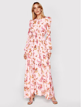 Versace Jeans Couture Versace Jeans Couture Sukienka wieczorowa D2HWA456 Różowy Regular Fit