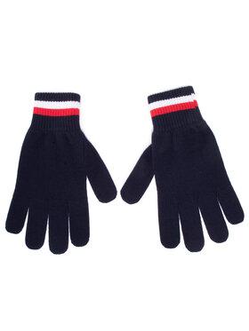 Tommy Hilfiger Tommy Hilfiger Vyriškos Pirštinės Corporate Gloves AM0AM06586 Tamsiai mėlyna