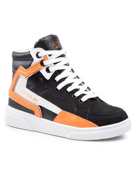 Guess Guess Sneakersy FI5OWE ESU12 Čierna