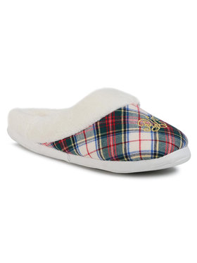 Lauren Ralph Lauren Lauren Ralph Lauren Пантофи Slippers ILN02030 Бял