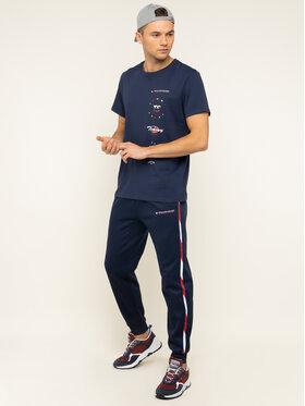 Tommy Sport Tommy Sport T-shirt Graphics S20S200316 Bleu marine Regular Fit