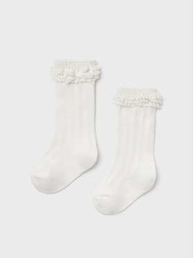 Mayoral Mayoral Κάλτσες Ψηλές Παιδικές 10097 Λευκό
