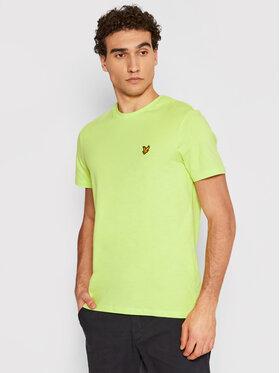 Lyle & Scott Lyle & Scott T-shirt Crew Neck TS400V Verde Regular Fit