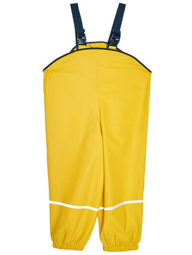 Playshoes Playshoes Kalhoty z materiálu 405424 M Žlutá Regular Fit