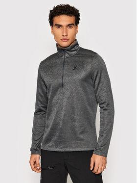 Salomon Salomon Technisches Sweatshirt Transition LC157920050 Grau Regular Fit