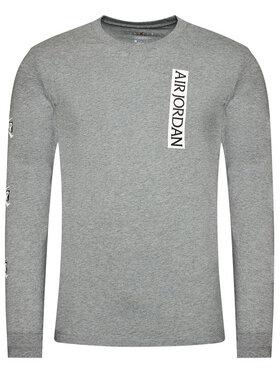 Nike Nike Тениска с дълъг ръкав CN3504 Сив Standard Fit