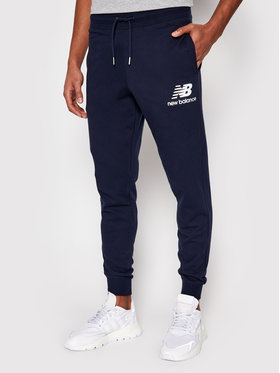 New Balance New Balance Pantaloni da tuta Esse St Lg MP03558 Blu scuro Athletic Fit