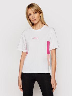 Fila Fila T-Shirt Jaelle 683293 Biały Regular Fit