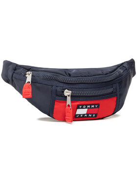 Tommy Jeans Tommy Jeans Rankinė ant juosmens Tjm Heritage Bumbag Nylon AM0AM066380 Tamsiai mėlyna