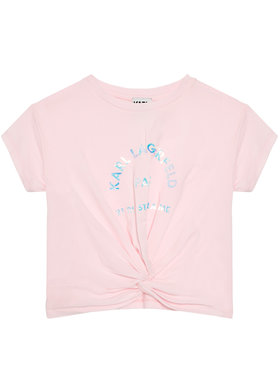 KARL LAGERFELD KARL LAGERFELD Bluză Z15303 S Roz Regular Fit