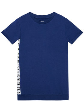 Guess Guess Φόρεμα καθημερινό K1RK08 KAE40 Σκούρο μπλε Regular Fit