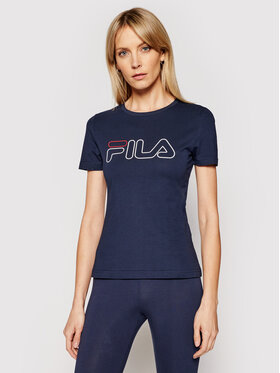 Fila Fila Marškinėliai Ladan Tee 683179 Tamsiai mėlyna Regular Fit