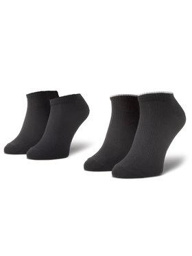 Levi's® Levi's® Set de 2 perechi de șosete medii pentru bărbați 37157-0390 Negru