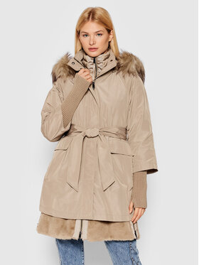 MAX&Co. MAX&Co. Parka Stopper 60315021 Brązowy Regular Fit