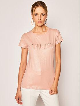 Liu Jo Sport Liu Jo Sport T-shirt TA0117 J5003 Rose Regular Fit