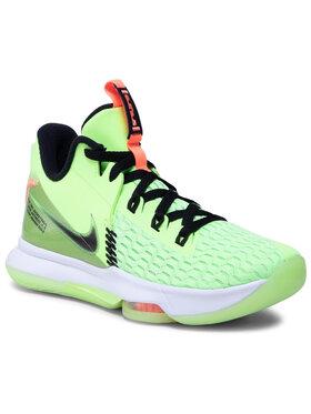 Nike Nike Boty Lebron Witness V CQ9380 300 Zelená