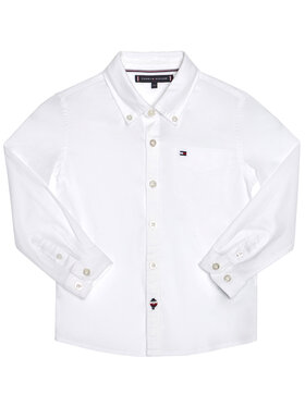 TOMMY HILFIGER TOMMY HILFIGER Camicia Essential Oxford KB0KB06127 M Bianco Regular Fit