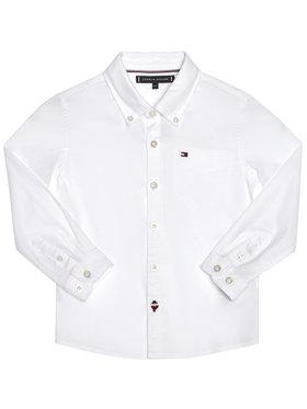 TOMMY HILFIGER TOMMY HILFIGER Košile Essential Oxford KB0KB06127 M Bílá Regular Fit