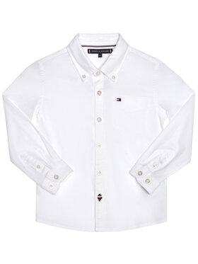 TOMMY HILFIGER TOMMY HILFIGER Koszula Essential Oxford KB0KB06127 M Biały Regular Fit