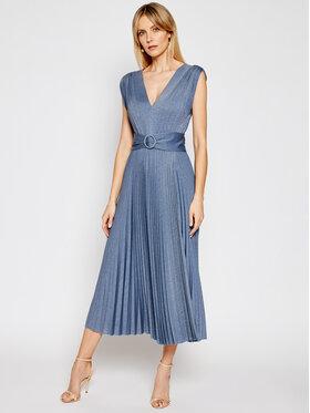Marella Marella Koktejlové šaty Arnica 36210111 Modrá Regular Fit