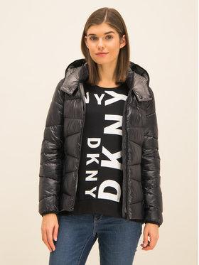 DKNY DKNY Kurtka puchowa DL925339 Czarny Regular Fit