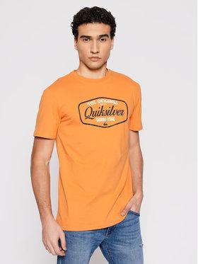 Quiksilver Quiksilver T-Shirt Cut To Now Ss EQYZT06377 Oranžová Regular Fit