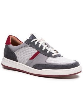 Clarks Clarks Sneakersy Bizby Lace 261596597 Szary