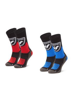 Rossignol Rossignol Lot de 2 paires de chaussettes hautes homme Termotech 2P RLJMX01 Multicolore