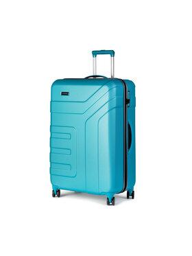 Travelite Travelite Stredný pevný kufor Vector 72049-21 Modrá