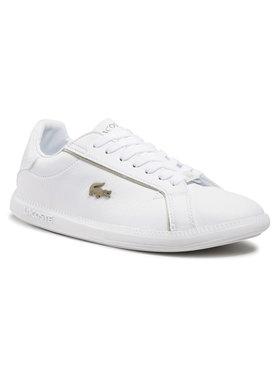 Lacoste Lacoste Sneakersy Graduate 0721 1 Sfa 7-41SFA007721G Biały