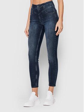 Calvin Klein Calvin Klein Jeansy Ankle K20K203291 Granatowy Skinny Fit