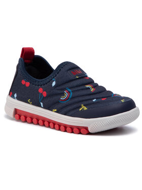 Bibi Bibi Sneakers Roller New 679538 Blu scuro