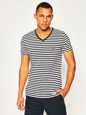 Tommy Hilfiger Tommy Hilfiger T-Shirt Stretch MW0MW13343 Kolorowy Slim Fit