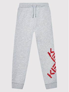 Kenzo Kids Kenzo Kids Παντελόνι φόρμας K24061 Γκρι Regular Fit