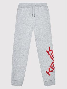 Kenzo Kids Kenzo Kids Spodnie dresowe K24061 Szary Regular Fit