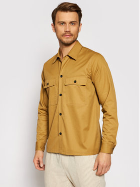 Only & Sons ONLY & SONS Риза Noar 22020800 Кафяв Oversize