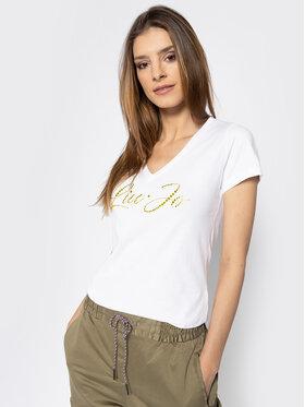 Liu Jo Liu Jo Marškinėliai WA0324 J5703 Balta Regular Fit