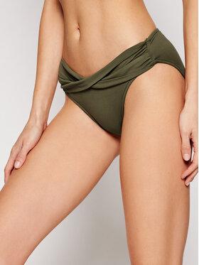 Seafolly Seafolly Bas de bikini Twist Band S4320-065 Vert