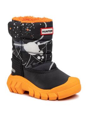 Hunter Hunter Stivali da neve Original Kids Snow Boots KFT5066WWU Nero