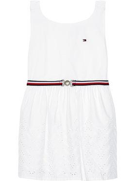 Tommy Hilfiger Tommy Hilfiger Elegantna haljina Shiffley KG0KG05835 M Bijela Regular Fit