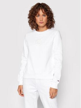 Tommy Jeans Tommy Jeans Bluza Tonal DW0DW11050 Biały Regular Fit