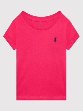 Polo Ralph Lauren Polo Ralph Lauren Тишърт 313833549027 Розов Regular Fit