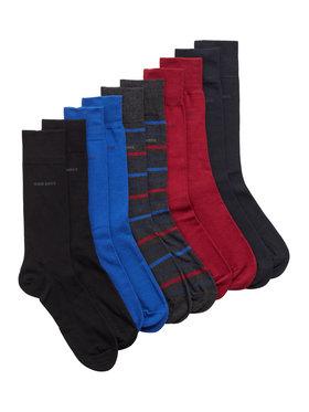 Boss Boss Súprava 5 párov vysokých pánskych ponožiek Gift Set Cc 50445618 Farebná