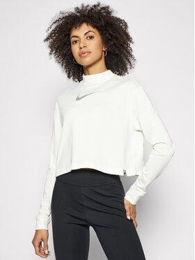 Nike Nike Bluzka Crop DC0641 Beżowy Loose Fit