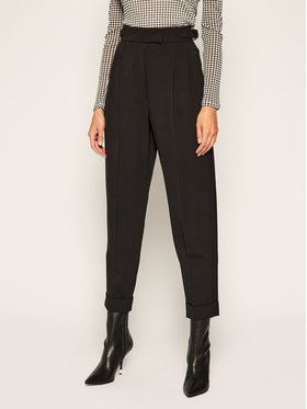 Sportmax Code Sportmax Code Текстилни панталони Formia 71360406 Черен Regular Fit