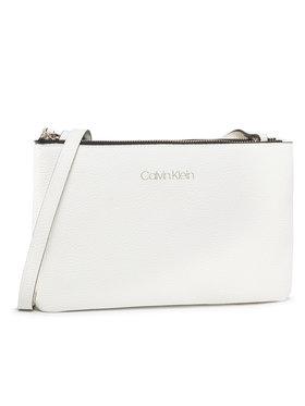 Calvin Klein Calvin Klein Sac à main Ck Everyday Duo Crossbody K60K606768 Blanc