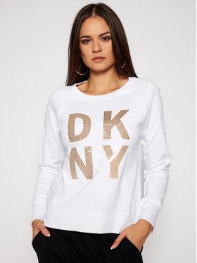 DKNY Sport DKNY Sport Sweatshirt DP0T7975 Weiß Regular Fit