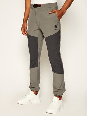 Columbia Columbia Παντελόνι outdoor Maxtrail EO0297 Γκρι Regular Fit