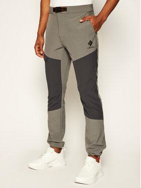 Columbia Columbia Spodnie outdoor Maxtrail EO0297 Szary Regular Fit