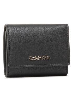 Calvin Klein Calvin Klein Kis női pénztárca Trifold Xs K60K607251 Fekete